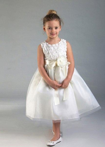 Нарядное платье для девочки 6-7 лет на выпускной выкройка