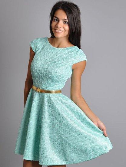 Выкройки мини платьях