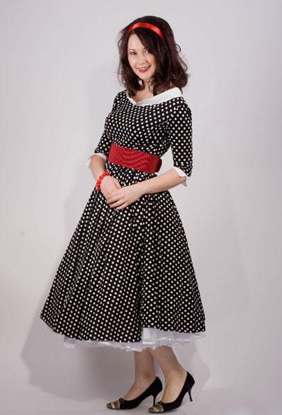 Сшить платье стиляг своими руками 54