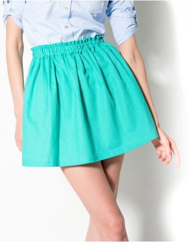 Кроить юбку на резинке