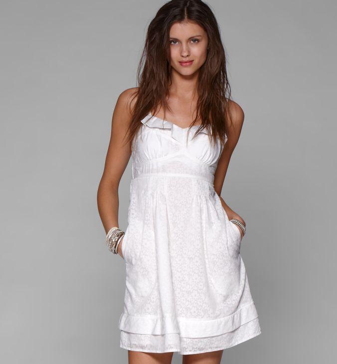 Фото свободного летнего платья с
