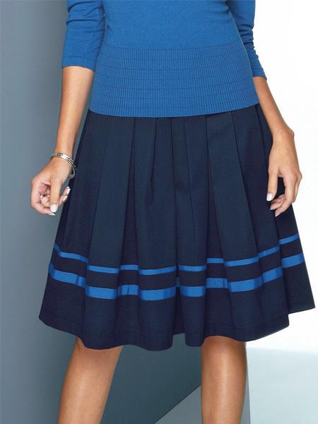 Какие бывают юбки в складку