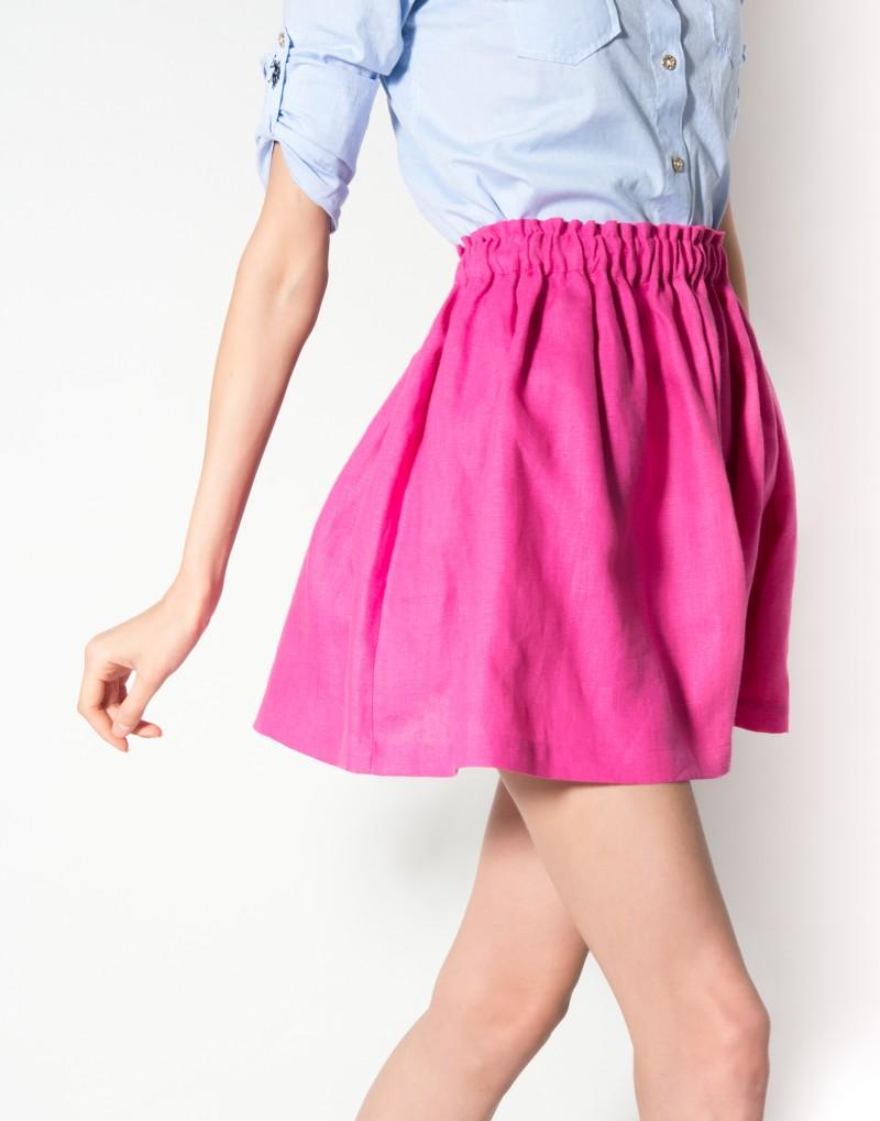 Выкройки юбка на резинке своими руками
