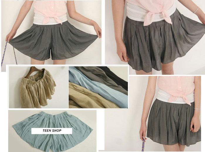 Сшить из юбки шорты