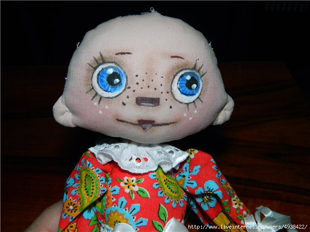 Выкройка чердачной куклы, Выкройка игрушки чердачной